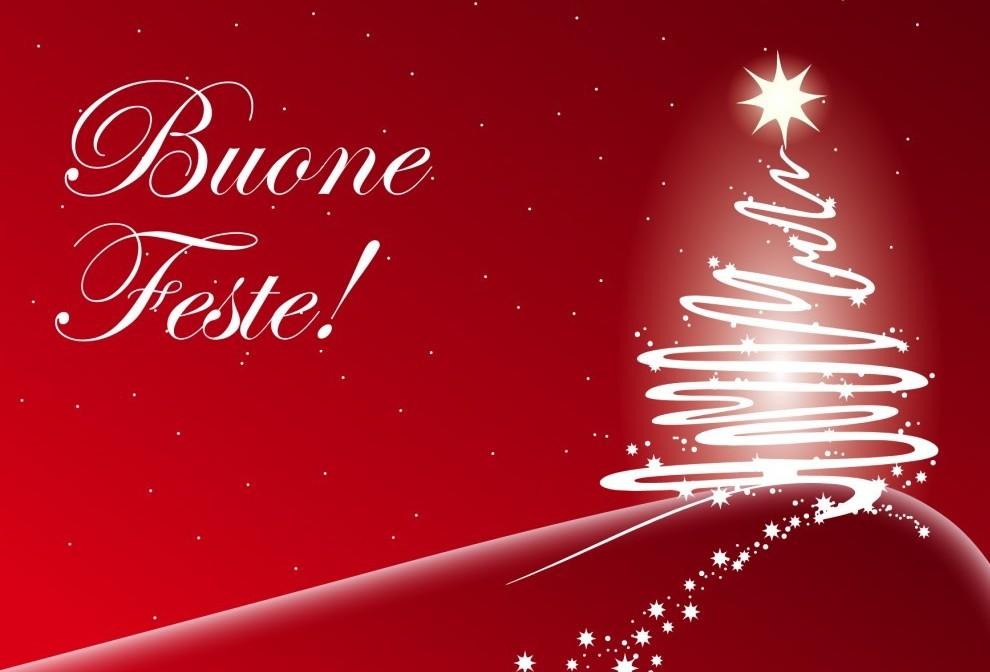 Buon Natale e felici feste a tutti