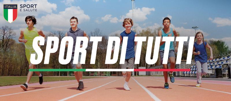 """PROGETTO """"SPORT DI TUTTI – edizione young"""" 2019/2020"""